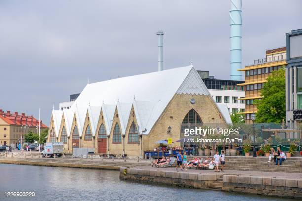 fish church in gothenburg - gothenburg stock pictures, royalty-free photos & images