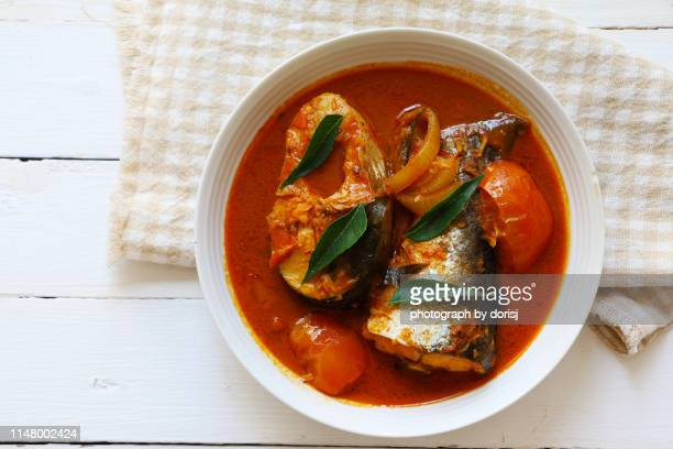 fish curry - curry meal stock pictures, royalty-free photos & images