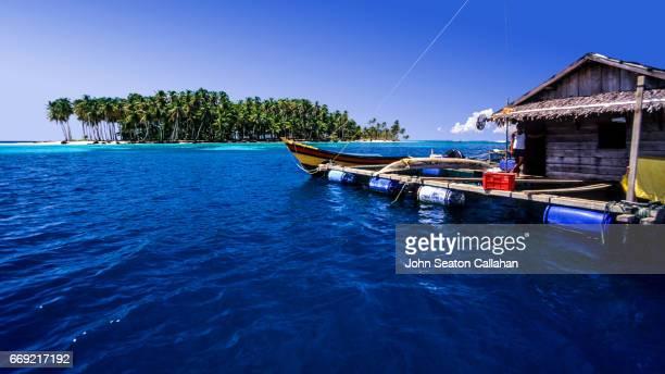 Fish Farm in the Mentawai Islands
