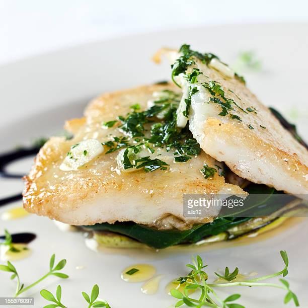 Filet de poisson aux légumes