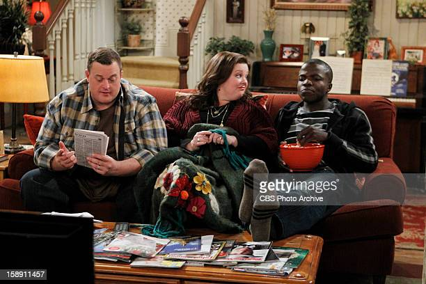 Fish for Breakfast Carl stays with Mike and Molly after his Grandma kicks him out on MIKE MOLLY Monday January 14 on the CBS Television Network