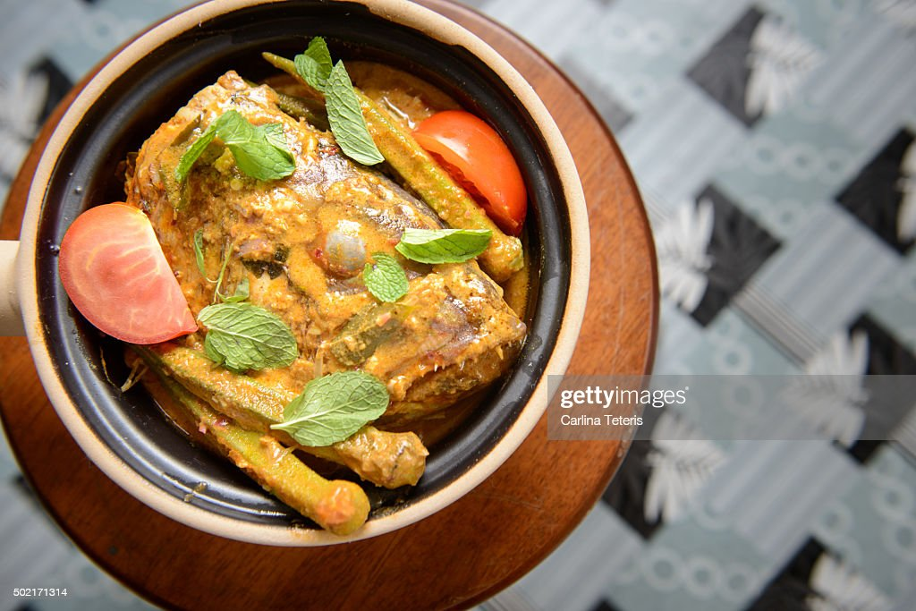 Fish Head Curry : Stock Photo