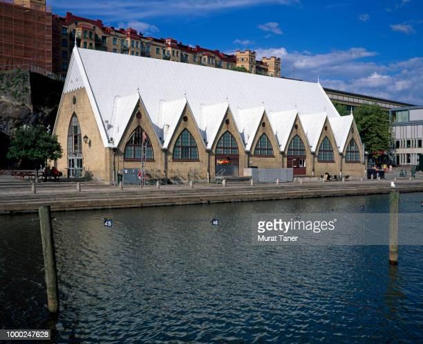 Fish market building in Gothenburg