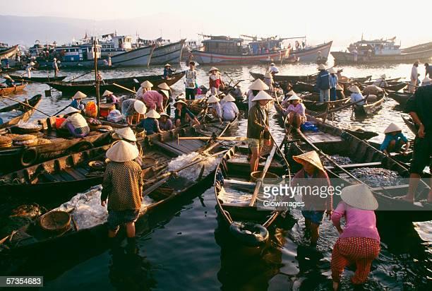 Fish market, Danang, Vietnam