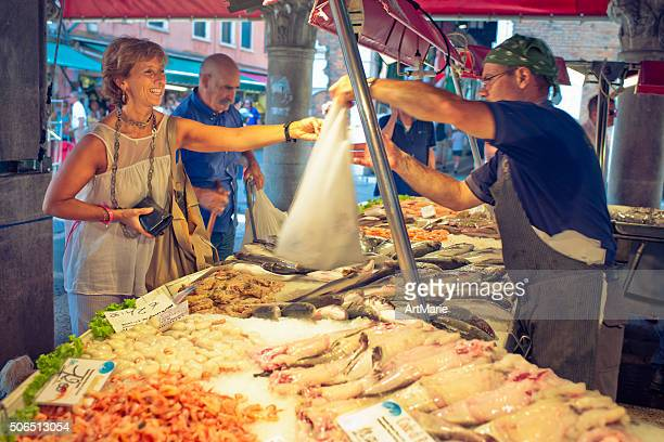 Fish market in Venice