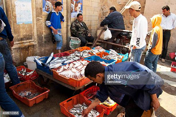 fish market, sousse, tunisia - sousse stock pictures, royalty-free photos & images