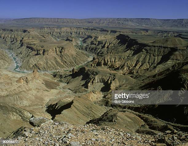 fish river canyon in the south namibian desert