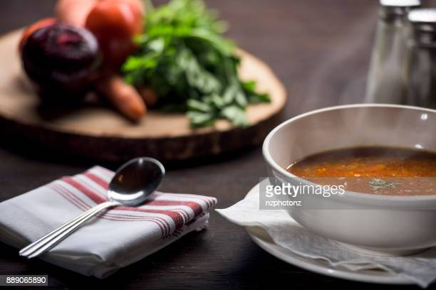 Fish soup /  Food photography (Click for more)