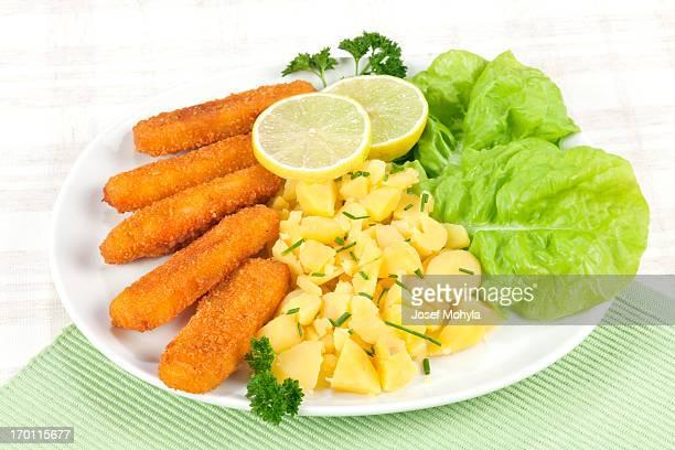 Fish stick dinner