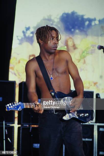 Fishbone performs at Lollapalooza in Waterloo Village Stanhope New Jersey July 13 1993