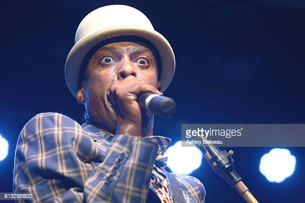 Fishbone Performs at Unity The Desmond Tutu Legacy Project Benefit Concert And 85th Birthday Celebration at Saban Theatre on October 7 2016 in...