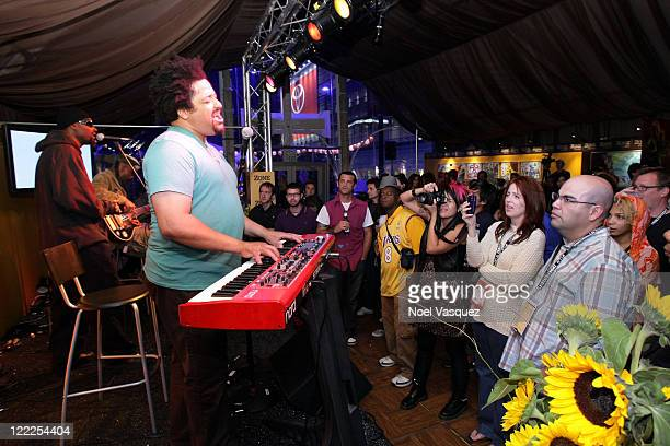 Fishbone performs onstage during the Musical Performance during the 2010 Los Angeles Film Festival at ZonePerfect livecreatelounge on June 19 2010 in...