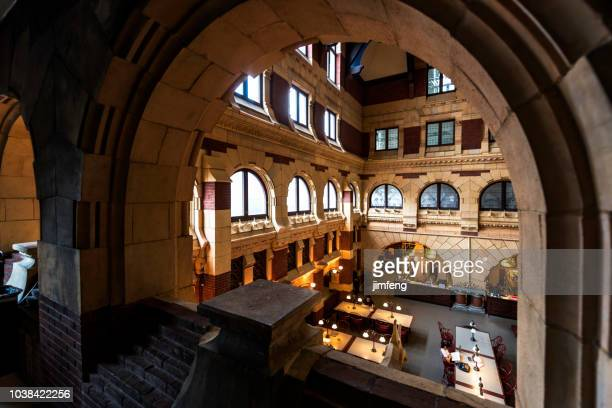 fisher fine arts library - ivy league university stock photos and pictures