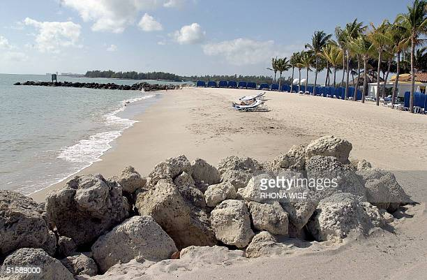 Fisher Island an exclusive golf tennis and spa community located in South Florida is also known for its private beaches one of which is shown here 08...