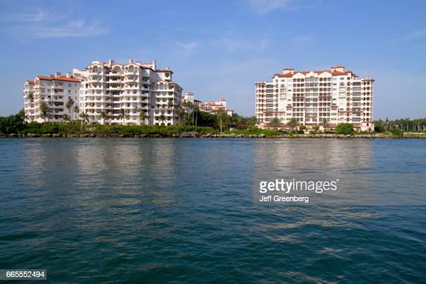 Fisher Island condominium buildings