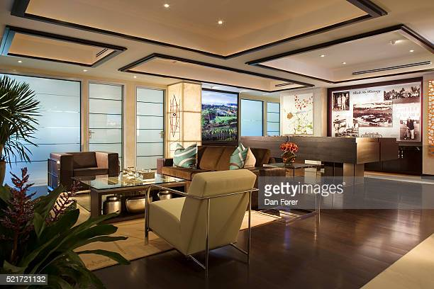 fisher island real estate sales office - fisher island stock pictures, royalty-free photos & images