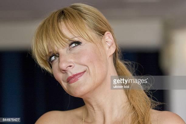Kerstin Poetke Presenter Singer Pop Music Germany