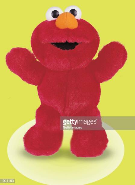 Fisher Price's Tickle Me Elmo is on display in an undated photo The doll is advertised to be soft plush and now ticklish in five places but only one...