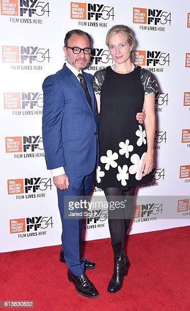 Fisher Stevens and Alexis Bloom attend the the premiere of 'Bright Lights Starring Carrie Fisher and Debbie Reynolds' during the 54th New York Film...