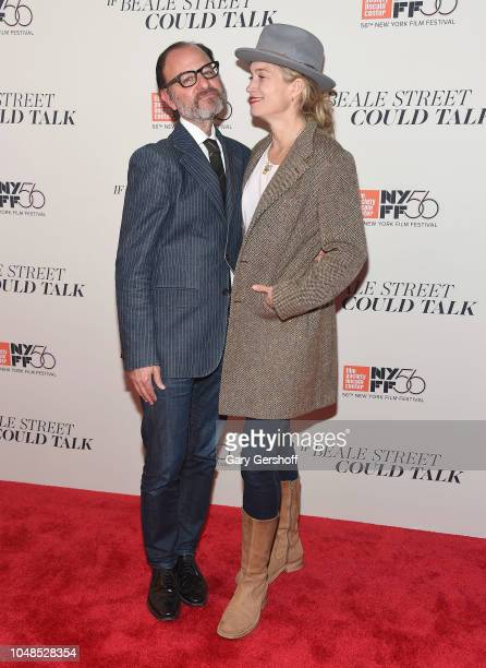 Fisher Stevens and Alexis Bloom attend the US premiere of 'If Beale Street Could Talk' during the 56th New York Film Festival at The Apollo Theater...