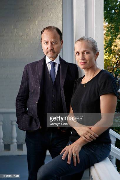 Fisher Stevens and Alexis Bloom of 'Bright Lights' are photographed for Los Angeles Times on October 22 2016 in New York City PUBLISHED IMAGE CREDIT...