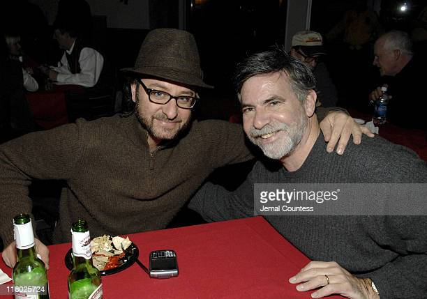 Fisher Stevens and Dan Klores of Crazy Love during 2007 Sundance Film Festival PC Opening Night Party at Legacy Lodge in Park City Utah United States