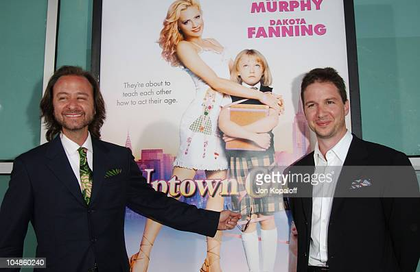 Fisher Stevens and John Penotti producers during Uptown Girls Los Angeles Premiere at ArcLight Cinerama Dome in Hollywood California United States