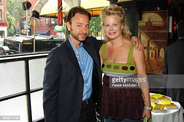 Fisher Stevens and Kim Garfunkel attend Luncheon to Launch ADAM DAVIES book GOODBYE LEMON at Elaines on July 25 2006 in New York City