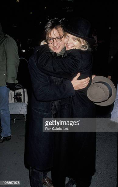 Fisher Stevens and Michelle Pfeiffer during A Few Good Men at Music Box Theater in New York City New York United States