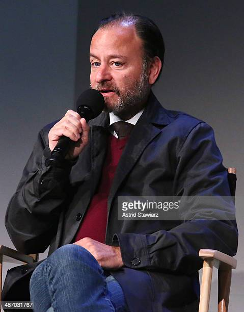 Fisher Stevens attends Apple Store Soho Presents Tribeca Film Festival Louie Psihoyos Fisher Stevens And Leilani Munter 6 at Apple Store Soho on...