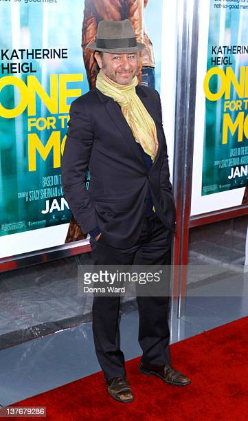 Fisher Stevens attends the One for the Money premiere at the AMC Loews Lincoln Square on January 24 2012 in New York City