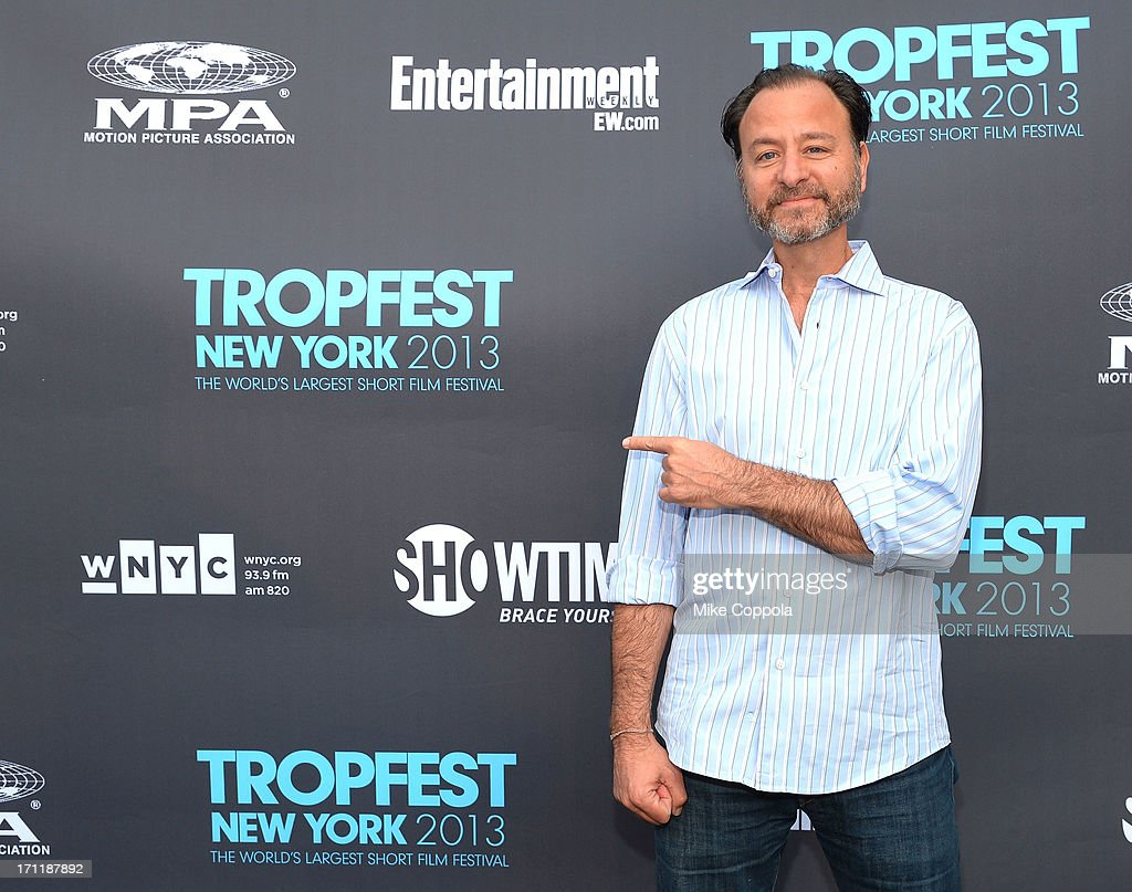 Fisher Stevens attends Tropfest New York 2013, the world's largest short film festival, at Prospect Park on June 22 in Brooklyn.
