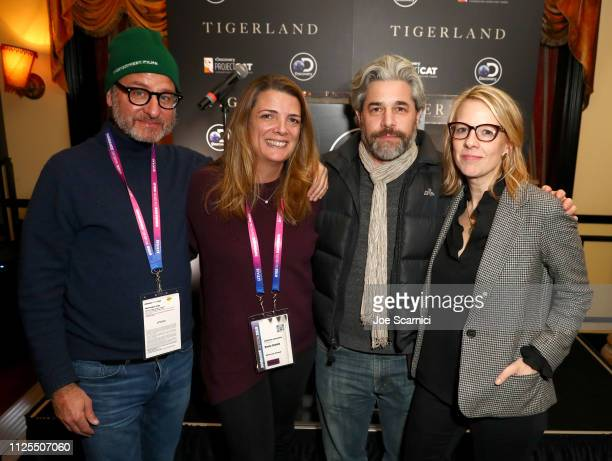 Fisher Stevens Discovery Inc Chief Brand Officer Discovery and Factual Nancy Daniels and Ross Kauffman attend the Discovery Channel celebration of...