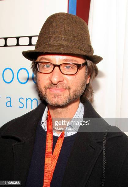 Fisher Stevens during 2007 Park City Philips Lounge at Village at the Lift Day 2 at Philips Lounge in Park City Utah United States