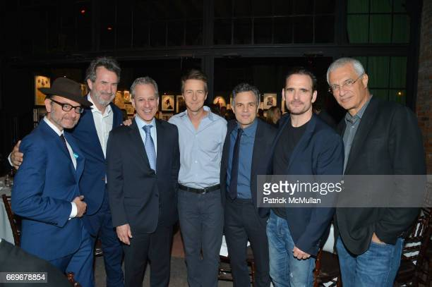Fisher Stevens Eric Goode New York Attorney General Eric Schneiderman Edward Norton Mark Ruffalo Matt Dillon and Louie Psihoyos attend The Turtle...