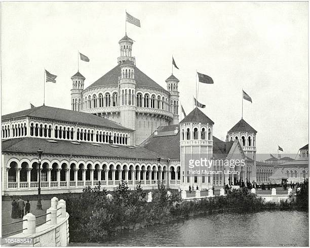 Fisheries Building From ''Columbian Gallery A Portfolio of Photographs of the World's Fair'' The Werner Company The pavilion of the Fish and...
