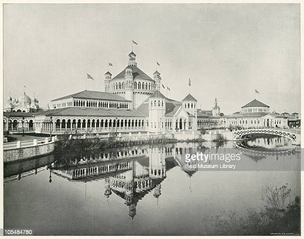 Fisheries Building Large photographic print from 'The White City World's Columbian Exposition 1893'The pavilion of the Fish and Fisheries exhibit was...