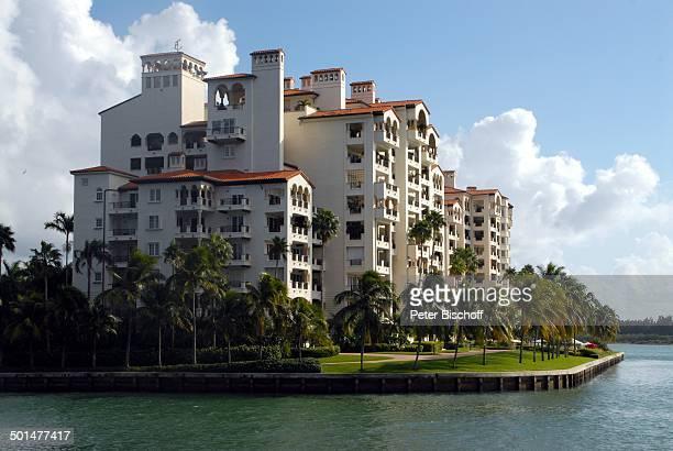 FisherIsland Miami Bundesstaat Florida USA Nordamerika Amerika Gebäude Reise BB DIG PNr 1905/2009