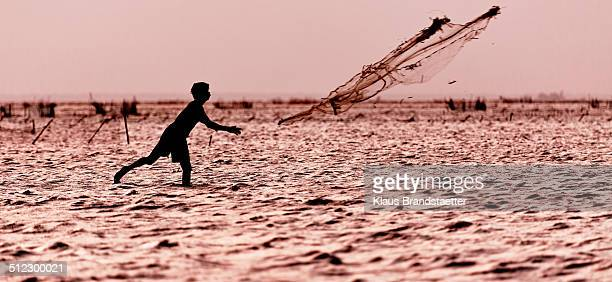 Fisherman and his net