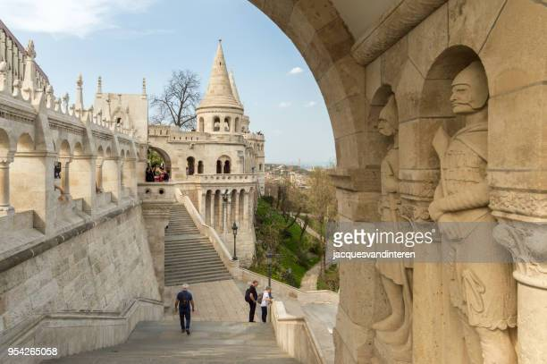 Fisherman Bastion, Pest, Budapest, Hungary