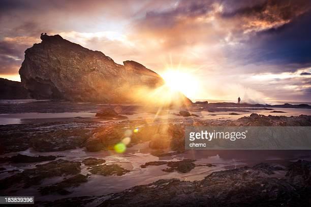 Fisherman enjoying the Sunrise
