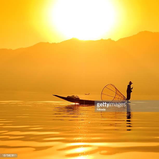 Fisherman in Asia