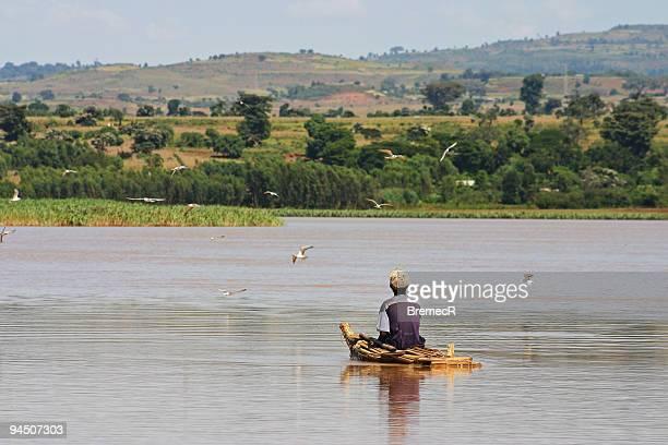 Fisherman on Lake Tana