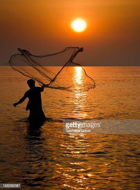 fisherman - saumalya ghosh stock pictures, royalty-free photos & images