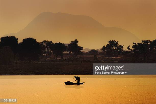 fisherman - nigeria stock pictures, royalty-free photos & images