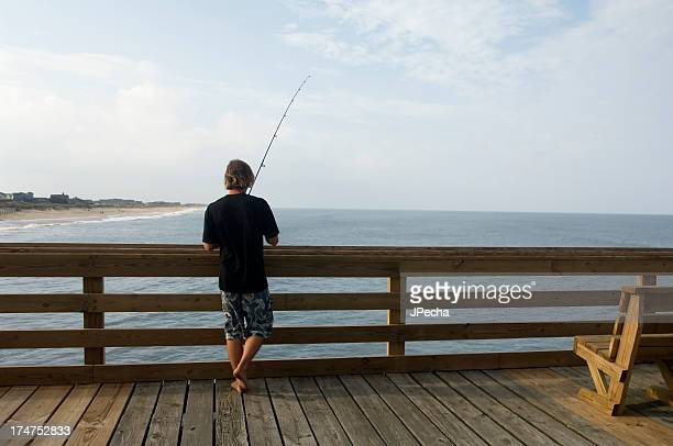 fisherman - kitty hawk stock pictures, royalty-free photos & images