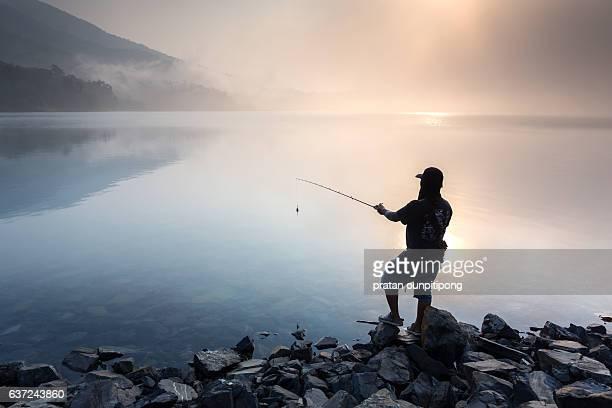 fisherman - chanthaburi sea stock pictures, royalty-free photos & images