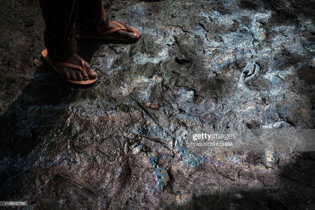 DOUNIAMAG-NIGERIA-OIL-ENVIRONMENT-POLLUTION-ONOGILAND : News Photo