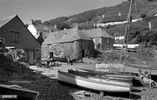 Fisherman's cottages at StIve's Cornwall