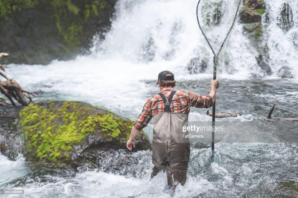 Ein Fischer Geschichte : Stock-Foto